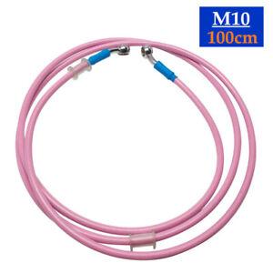 100CM Motorcycle Braid Hydraulic Brake Light Switch Bolt Thread Oil Hose Line ×1