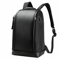"BOPAI Business 15.6"" Laptop Backpack Anti-Theft USB Charging Port Rucksack-Black"