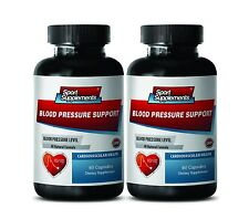 Blood Pressure Support 820mg - Helps Lower Blood Pressure Levels  Supplements 2B