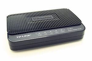 TP-Link TD-8817 ADSL2+ Ethernet/USB Modem Router Annex A ohne Netzteil