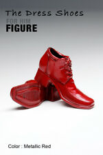 ks0107 Metallic Red Dress Shoes Boots (Plastic) for Homme FR Ken Color Infusion