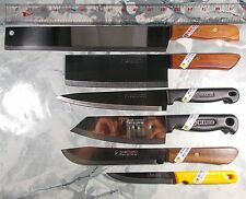 Thai Chef Knife Cook Knives Set6 KIWI,KomKom Brand Kitchen Blade Stainless Steel