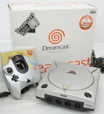 Dreamcast Metallic Silver Console System Limited GOOD FREE SHIPPING Sega 1124