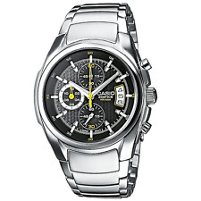 Casio EDIFICE Men's Watch EF-512D EF-512D-1AV Stainless Steel 100m EF512 & Box