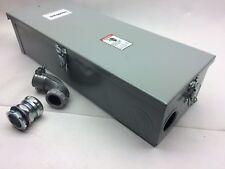 SIEMENS 125A ED42B125 CIRCUIT BREAKER ENCLOSURE 600 V NEMA 3R CED6N3R