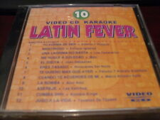 LATIN FEVER KARAOKE VIDEO CD VCDLF-010 VOLUME 10  12 TRACKS