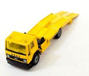 Siku Toy Car 2520 W Germany ADAC-Auslandsdienst Truck Trailer Vintage H100