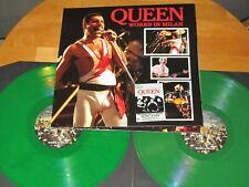 """QUEEN """"WORKS IN MILAN"""" - LIVE 1984 - 2LP + POSTER green vinyls"""