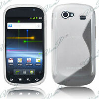 ACCESSOIRES HOUSSE ETUI COQUE SILICONE GEL S BLANC Samsung Galaxy Nexus I9020