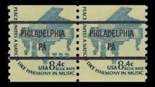 1615Cd Piano 8.4c PHILADELPHIA PA Bureau Precancel Americana Pair MNH - Buy Now