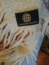 Vintage Kennebunk Weavers Fringed Throw
