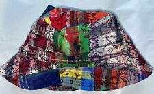 Polo Ralph Lauren QUILTED PATCHWORK MULTICOLOR  BUCKET HAT Pony NEW WITH TAGS