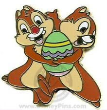 Disney Chip & Dale Holding an Easter Egg pin