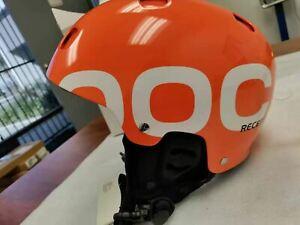 POC Receptor + Lron Orange Helmet Large 57/58 new in Box New in box