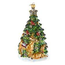 Mackenzie Childs Woodland Tree Ornament- Nib
