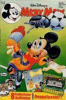 Micky Maus Heft Nr. 21 | 17.05.1990 | Doppelposter | Walt Disney | MM37