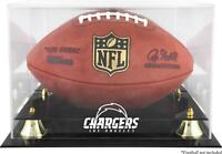 Chargers Team Logo Football Display Case - Fanatics