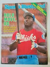 Sports Illustrated Magazine July 14 1986 Bo Jackson First Cover