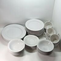 Lot of 42 Martha Stewart Everyday | MSE | China Dish Set | Plates Bowls Cups