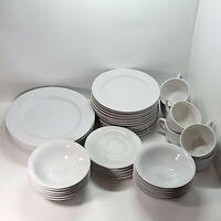 Lot of 42 Martha Stewart Everyday   MSE   China Dish Set   Plates Bowls Cups
