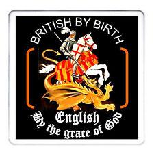 Inglés británico por nacimiento por la gracia de Dios, St George y el Dragón montaña rusa
