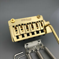 Genuine Wilkinson Guitar Tremolo Vibrato Bridge 2 Point Gold Chrome