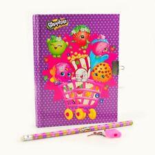 Purple Pink - Kids Girls Secret Diary Lockable Diaries Notebook - Locket
