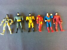 MIXED LOT OF 6 ACTION FIGURES / TOYS - BATMAN, IRONMAN, AND SUPERMAN