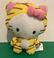 "HELLO KITTY IN Tiger COSTUME 7"" PLUSH STUFFED ANIMAL Toy"