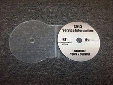 2012 Dodge Grand Caravan Minivan Shop Service Repair Manual DVD SE SXT R/T 3.6L