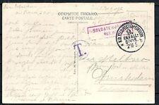 Reich 1915 Russian Fieldpost PPC Soldatenbrief to Amsterdam