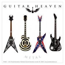 Guitar Heaven - Metal - Aufkleber Sticker - Neu