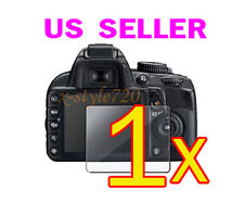 1x Nikon D5100 Camera Clear LCD Screen Protector Guard Cover Film