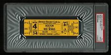PSA 10 OLYMPIA STADIUM 1979 Unused NHL Hockey Ticket for the Bruins at Red Wings