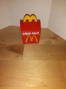 90s McDonald's Happy Meal Toy Transformer Happy Meal Box
