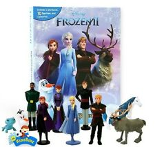 New Disney FROZEN 2 My Busy Book, Map, 10 Figures