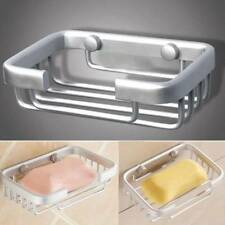 Aluminium Wall Mounted Bathroom Bath Shower Soap Storage Holder Rack Dish