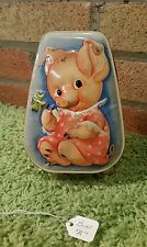 Vintage George W. Horner Tin - Made in England - Pig Toffee Tin