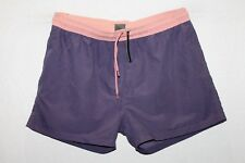 ASOS Brand Women's Purple Pink Contrast Waist Jogger Shorts Size XL BNWT #TM58