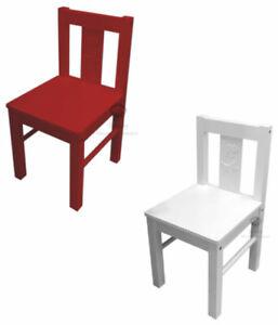 KRITTER, Kinderstuhl, Stuhl, Kindermöbel, rot, weiß, IKEA, 53x29x27cm, NEU