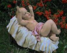 Chubby Baby Jesus Crib 11 inch Best Nativity Set Yet Color Outdoor Garden Decor