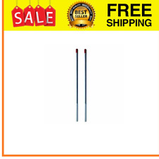 2Pcs Winding Bars with Non-Slip Handle 1/2 Inch for Garage Door Torsion Spring