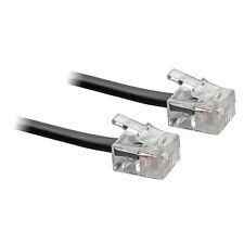 15M ADSL RJ11 Internet Modem Broadband DSL Cable Lead Black - SENT TODAY