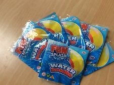 6 Packs of Water Bombs, Party Kids Birthday Garden Summer Fun Splash Free Post!