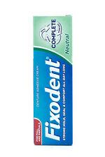 Fixodent Neutre Colle Pour Dentier Crème / Original Colle Pour Dentier Crème 47g