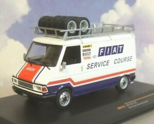 IXO 1/43 FIAT 242 FIAT SERVICE CORSE RACING RALLY TEAM ASSISTANCE/SUPPORT 1979