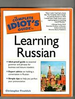 LEARNING RUSSIAN ~ The Complete Idiot's Guide ~ Christopher Froehlich