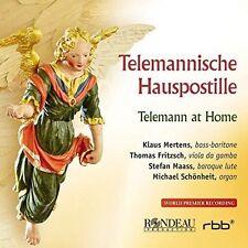 Fritzsch:Telemann At Home [Klaus Mertens; Thomas Fritzsch; Stefan Maass; Michael