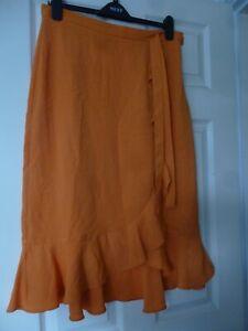 Orange Skirt by George Size 12