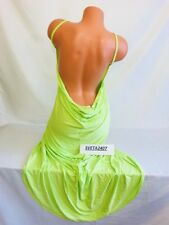 Victoria's Secret Beach Sexy Swim Cover Up Wrap Neon Long Maxi Dress Sz XS/S NWT